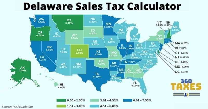How Delaware Sales Tax Calculator Works: Step By Step Guide