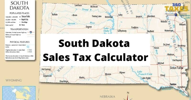 How South Dakota Sales Tax Calculator Works: Step By Step Guide