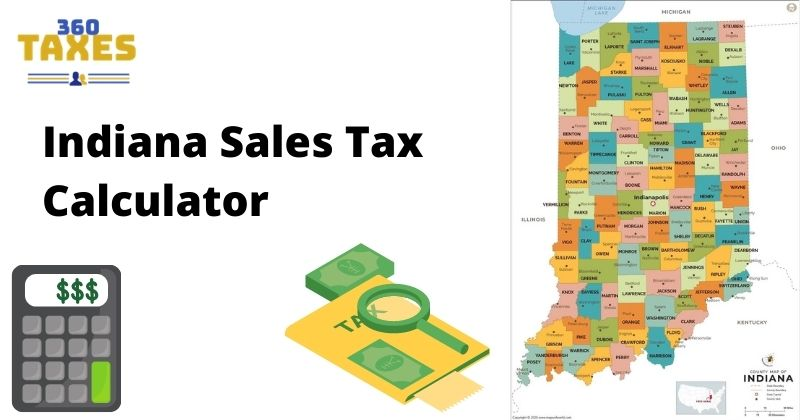 How Indiana Sales Tax Calculator Works: Step By Step Guide