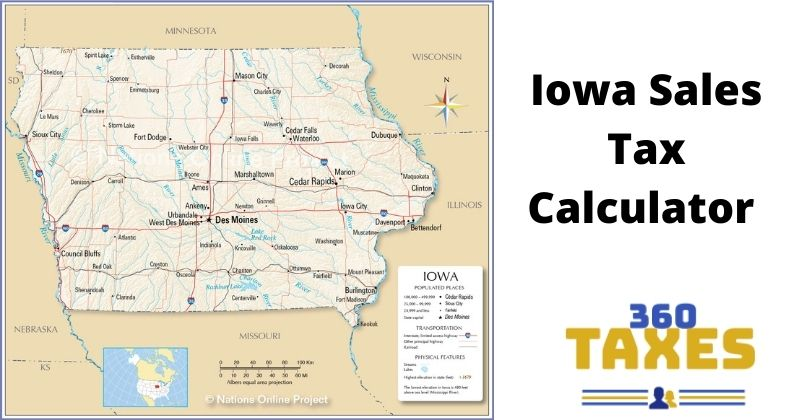 How Iowa Sales Tax Calculator Works: Step By Step Guide
