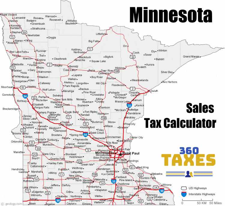 How Minnesota Sales Tax Calculator Works: Step By Step Guide