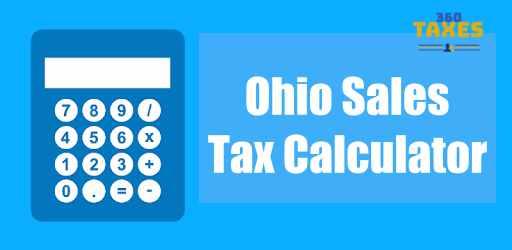 Ohio Sales Tax Calculator