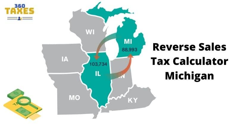 How Does Reverse Sales Tax Calculator Michigan Work?