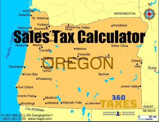 How Oregon Sales Tax Calculator Works: Step By Step Guide