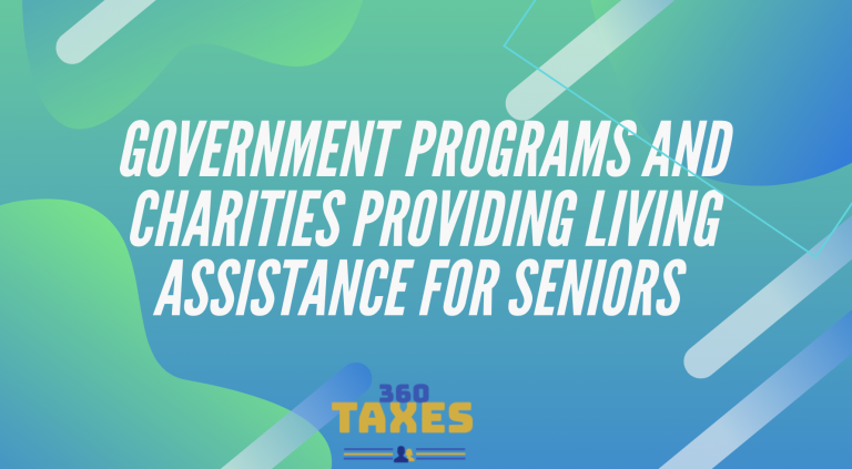 Government Programs And Charities Providing Living Assistance For Seniors