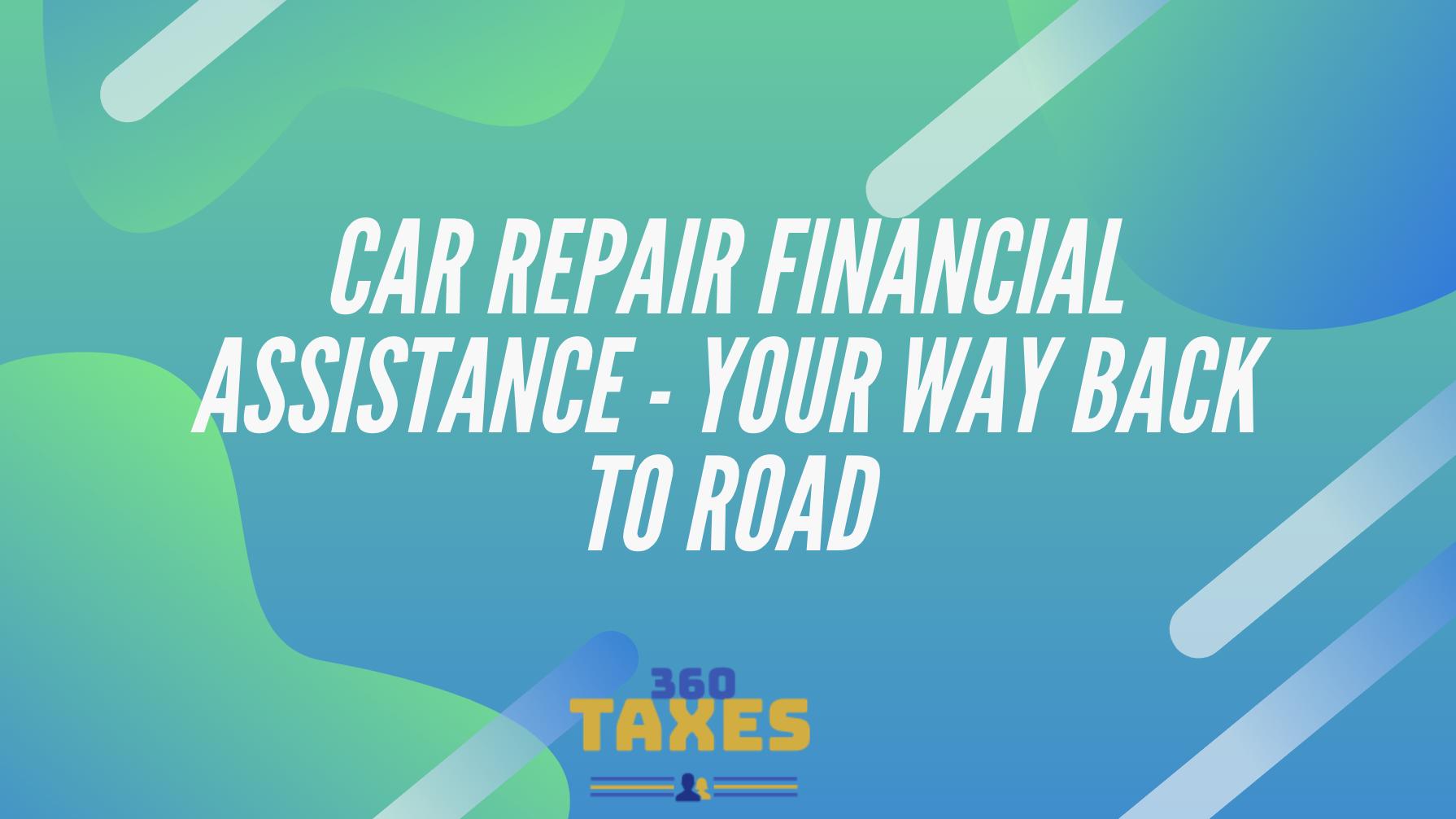 Car Repair Financial Assistance