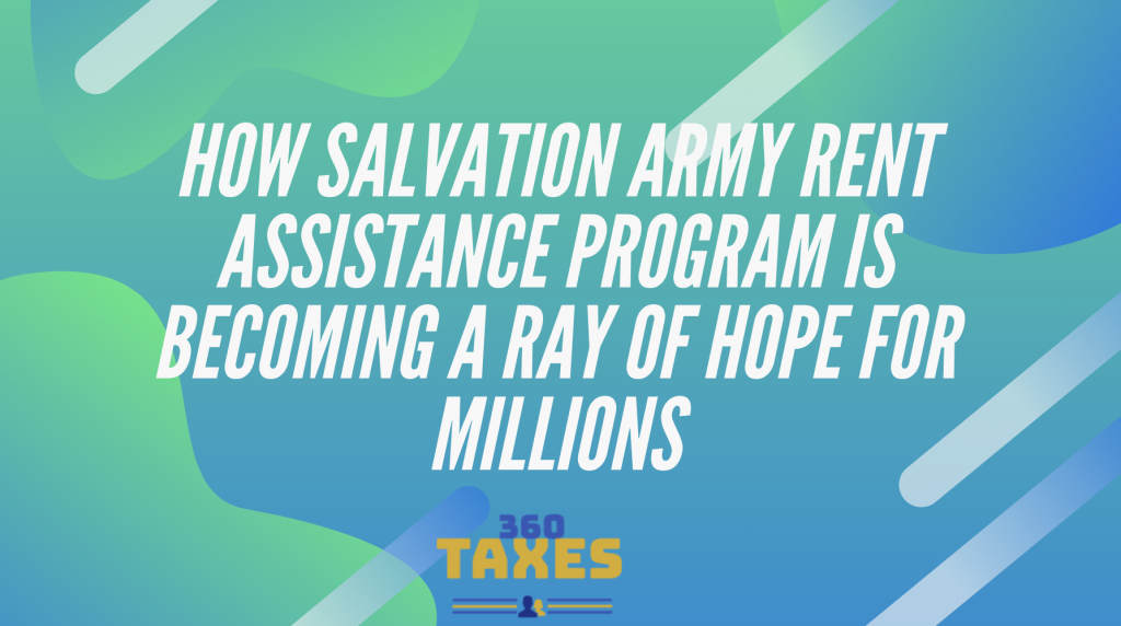 salvation army rent assistance