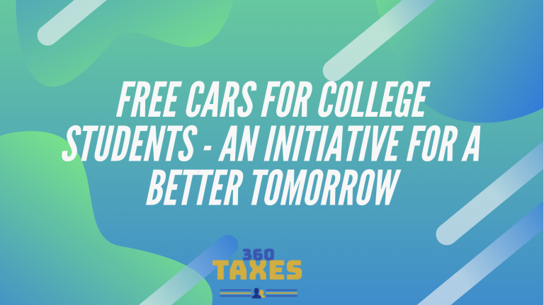 Free Cars For College Students – An Initiative For A Better Tomorrow