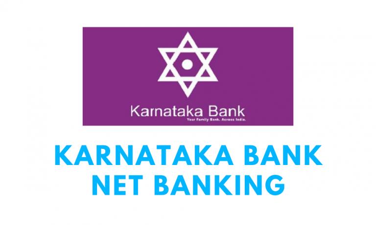 Karnataka Bank Internet Banking Registration